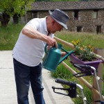 Préparation des jardinières