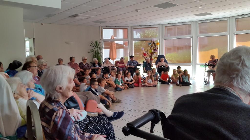 Spectacle de fin d'année des enfants de l'Ecole de Saint-Pierreville